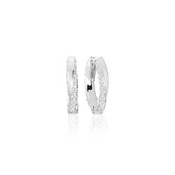 Ferrara Medio Earrings Silver