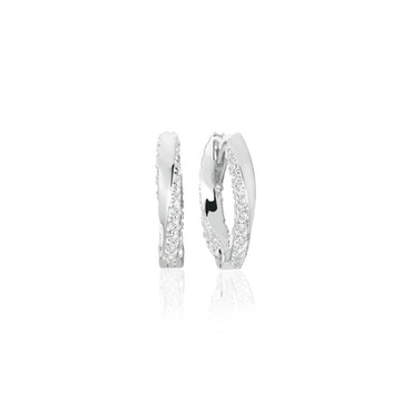 Ferrara Medio Earrings Silver
