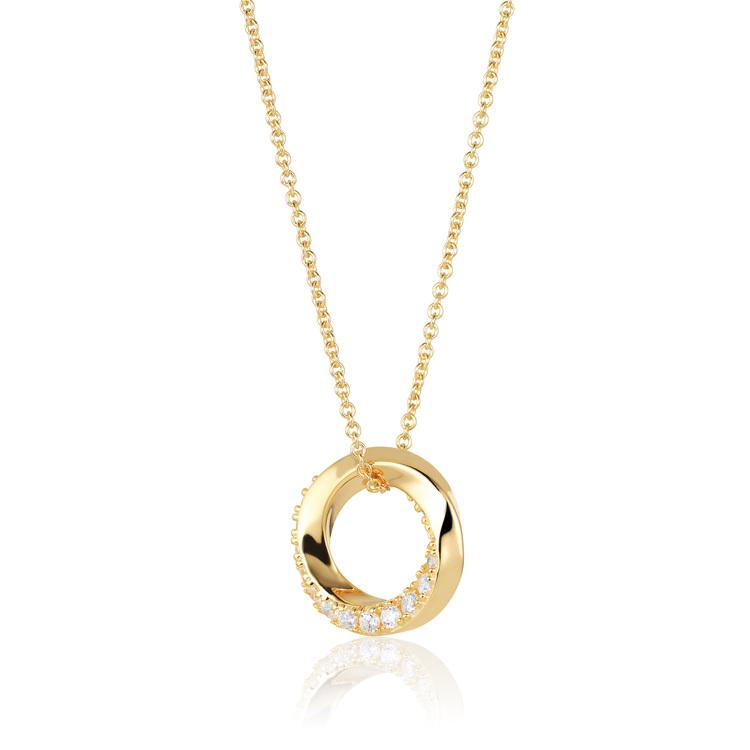 Ferrara Necklace Gold