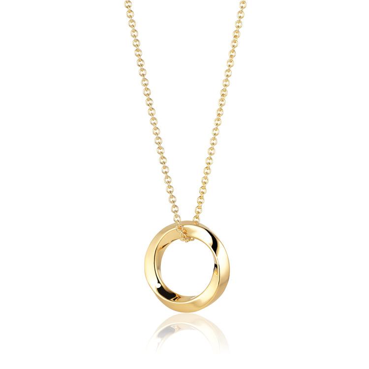 Ferrara Pianura Necklace Gold