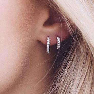 Ellera Earrings Silver