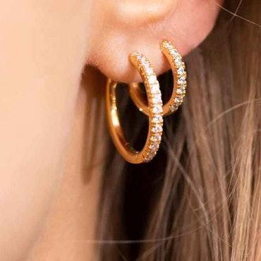 Ellera Earrings Gold