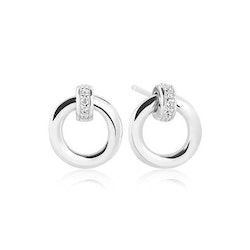 Itri Earrings Silver