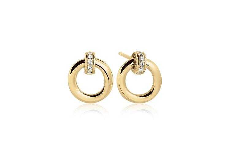 Itri Earrings Gold