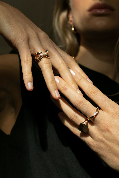 Capri Ring Silver