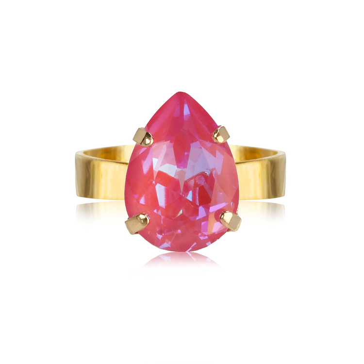 Mini Drop Ring/ Lotus Pink Delite
