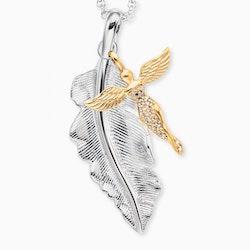 Halsband Fjäder och Ängel