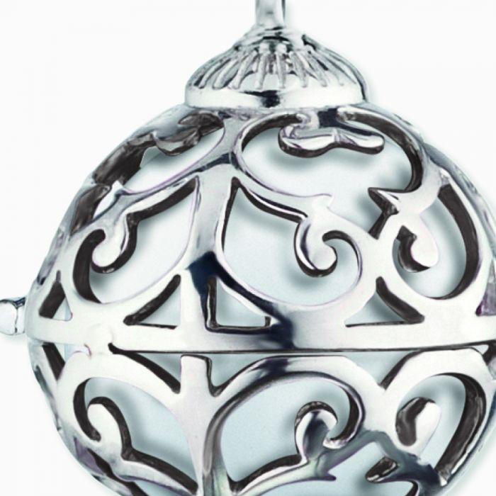 Halsband Änglakallare silver XS