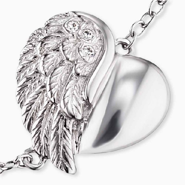 Armband Heartwing silver