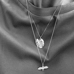 Silver Small Dove Necklace