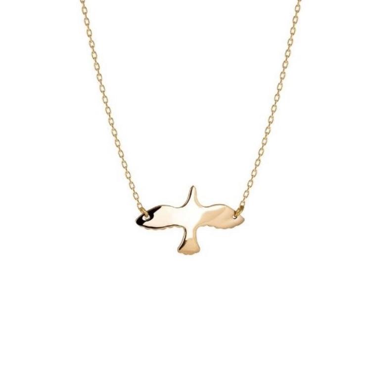 Golden Dove Necklace