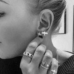 Golden Dove Pin Earrings