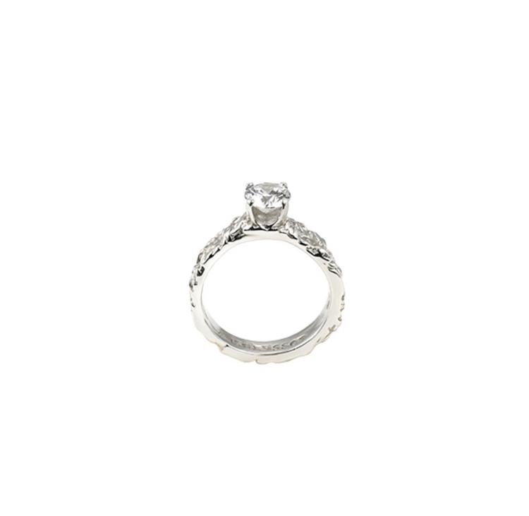 Small Princess Ring Silver