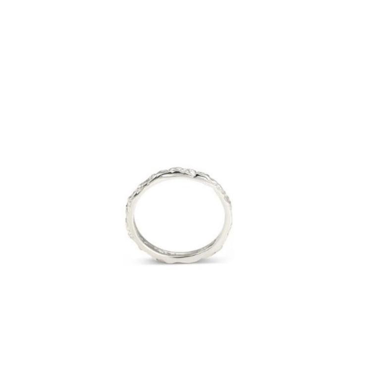 Thin Band Ring Silver