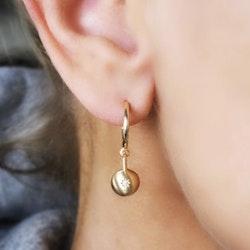 Sparkling Globe Earrings Gold