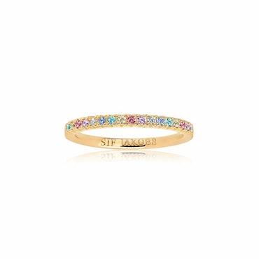 Ellera Ring Multicolor Gold