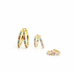 Ellera Grande Multicolor Earrings