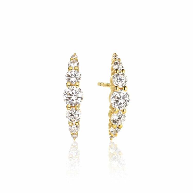 Belluno Earrings Gold