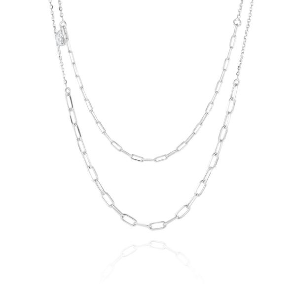 Chain Due Silver