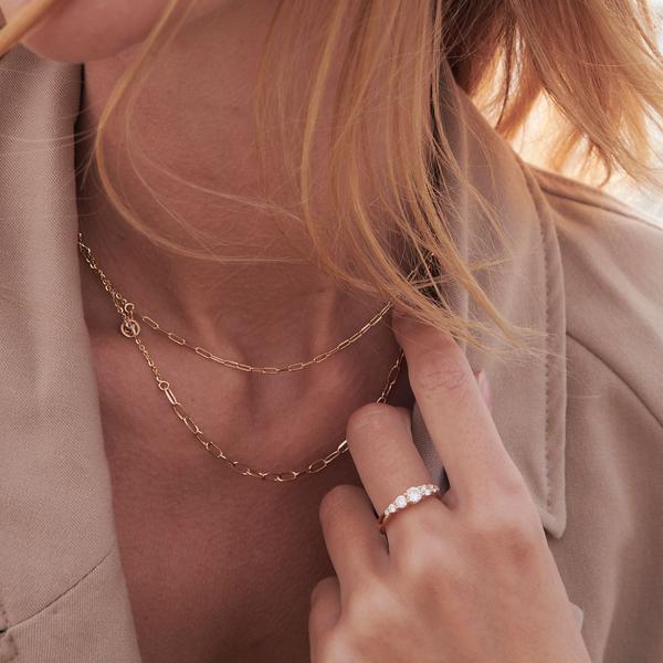 Belluno Ring Silver