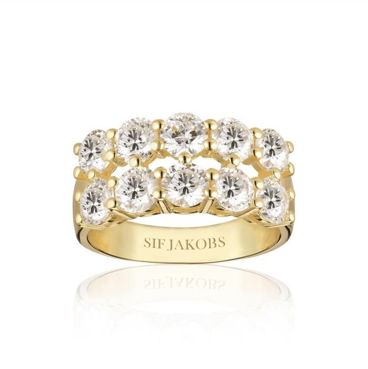 Belluno Due Ring Gold