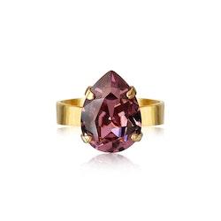 Mini Drop Ring Iris/Gold