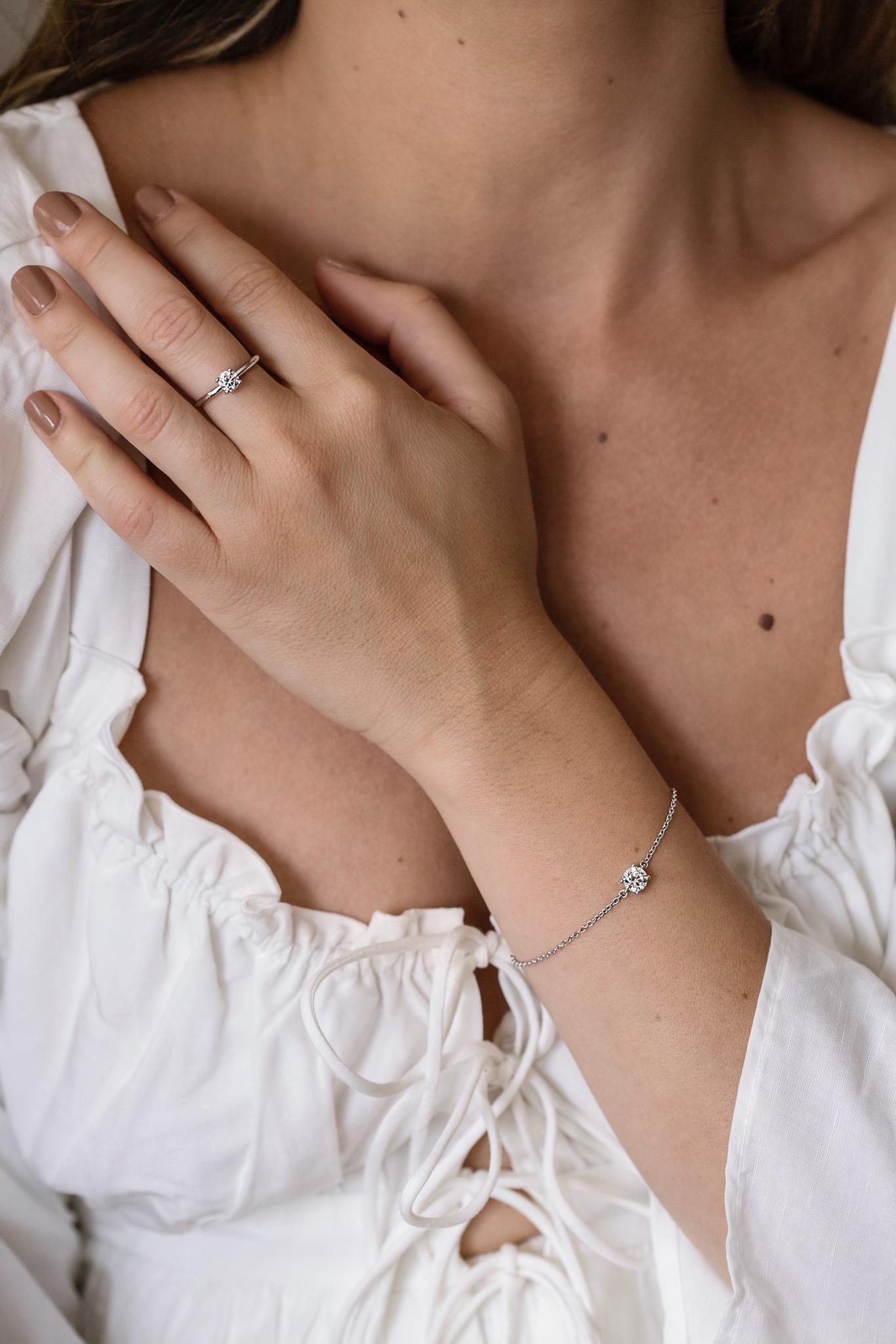 Adrienne Bracelet Silver