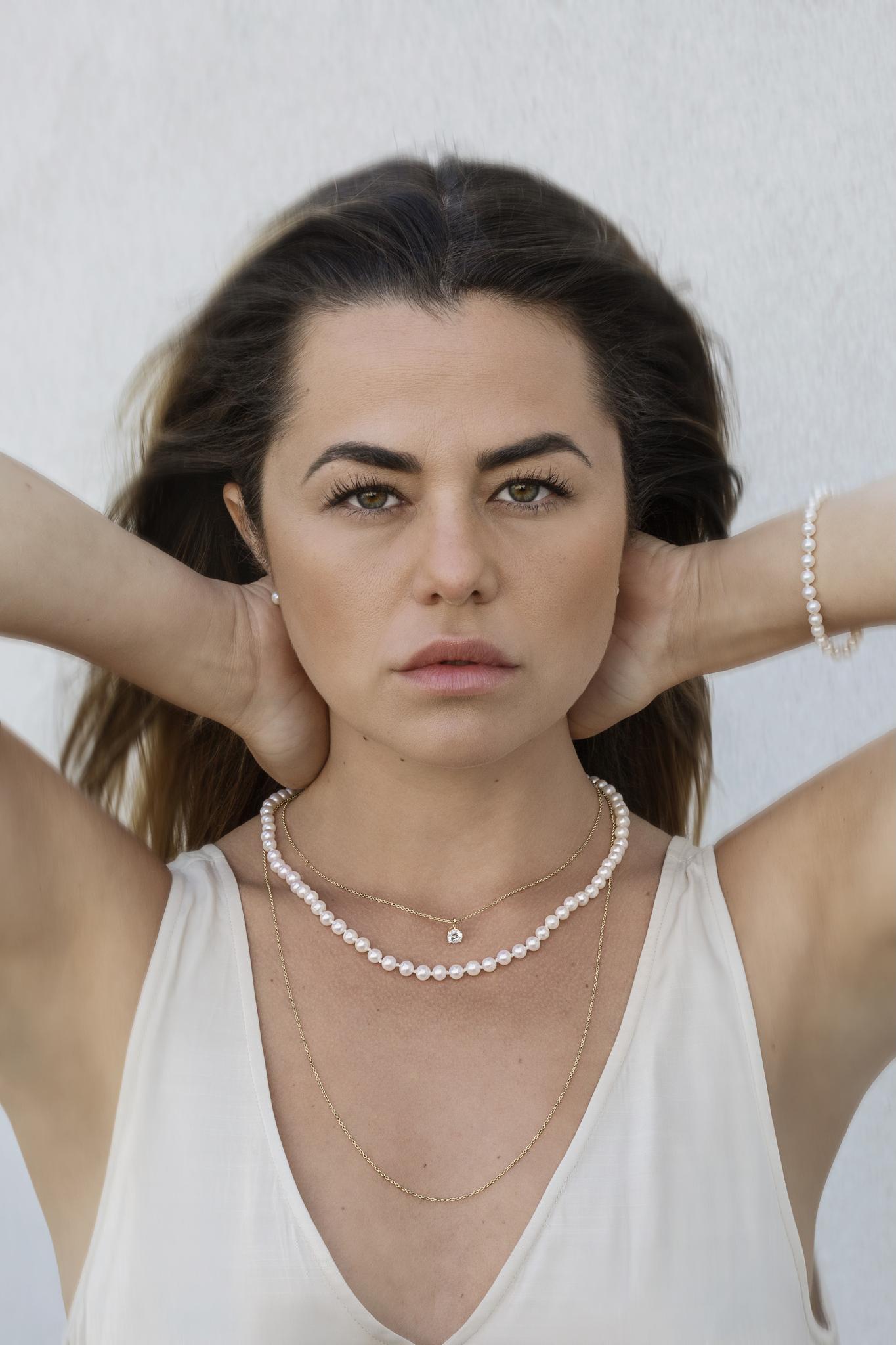 Gabrielle Pearl Earrings