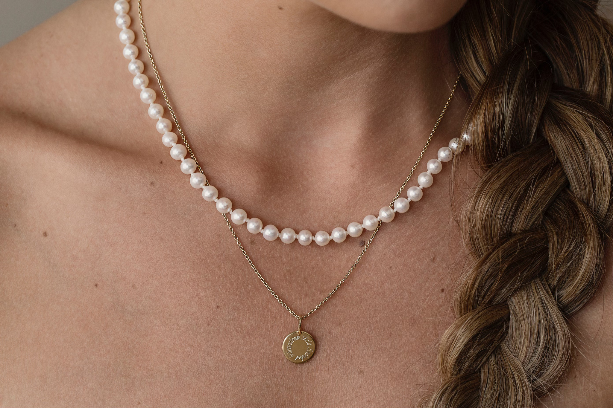 Gabrielle Pearl Necklace 48
