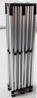 Tält stativ aluminium Hexagon profil 3x3 m