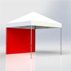 Tältvägg 4,5 m Röd