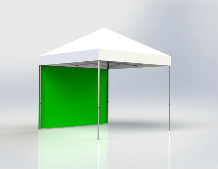 Tältvägg 4,5 m Grön