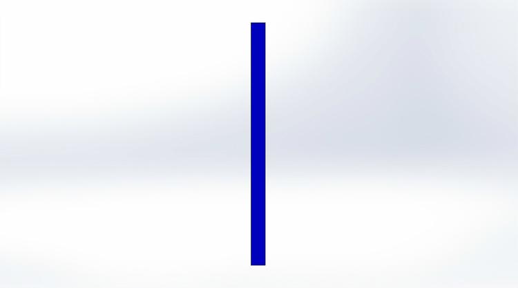 Tältförlängning Blå 20 cm