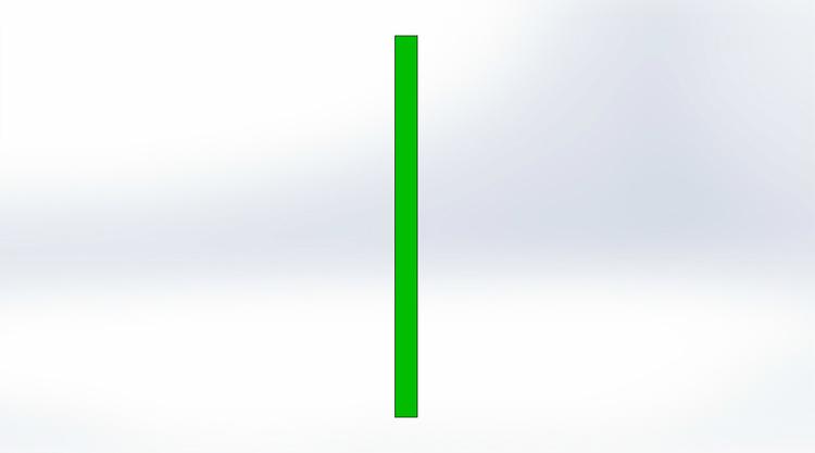 Tältförlängning Grön 20 cm