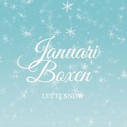 """Januariboxen """"Let it snow"""""""