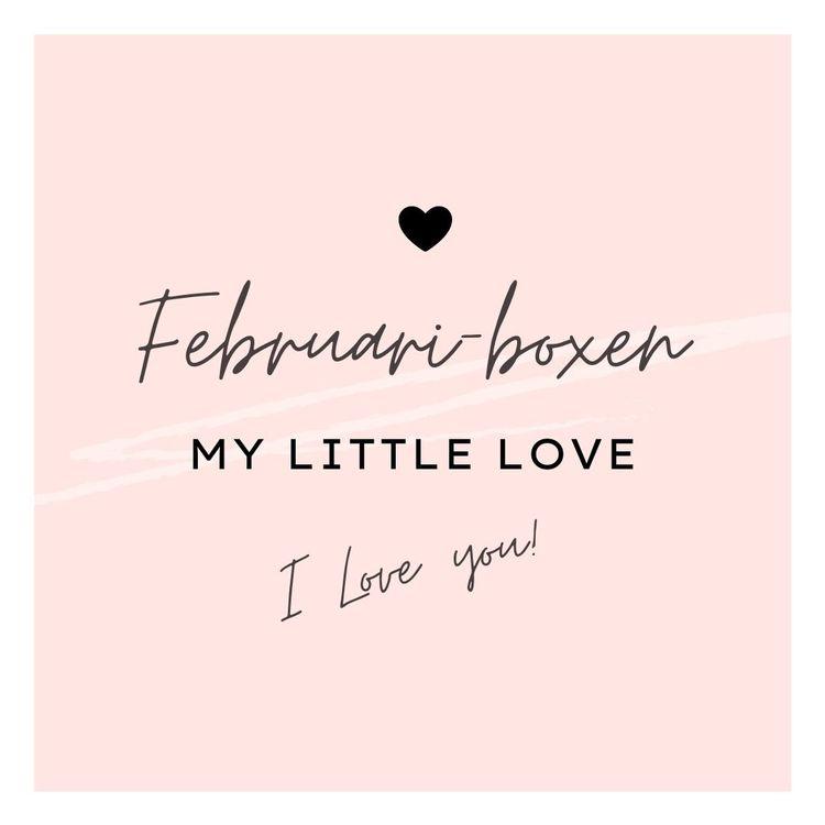"Februariboxen ""Little love"""