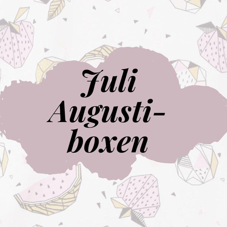 Månadsbox Juli-Augusti