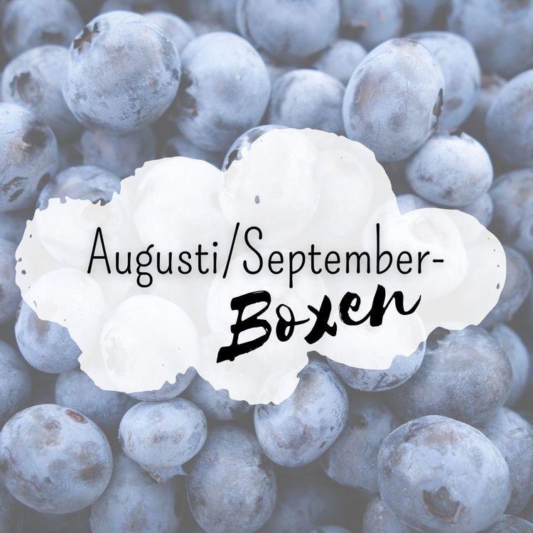 Augusti/September- Boxen