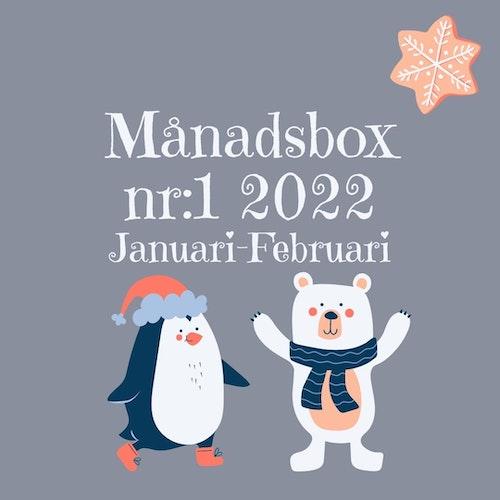 Månadsbox nr:1 2022