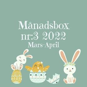 Månadsbox nr:3 2022