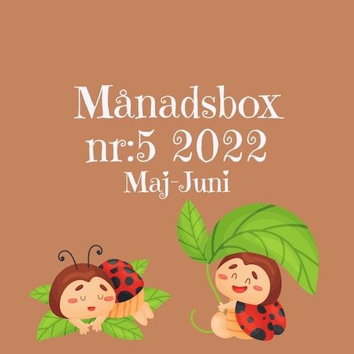 Månadsbox nr:5 2022