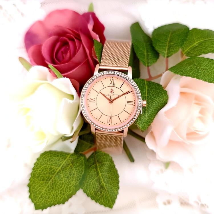 Fleur rosé med rosé armband
