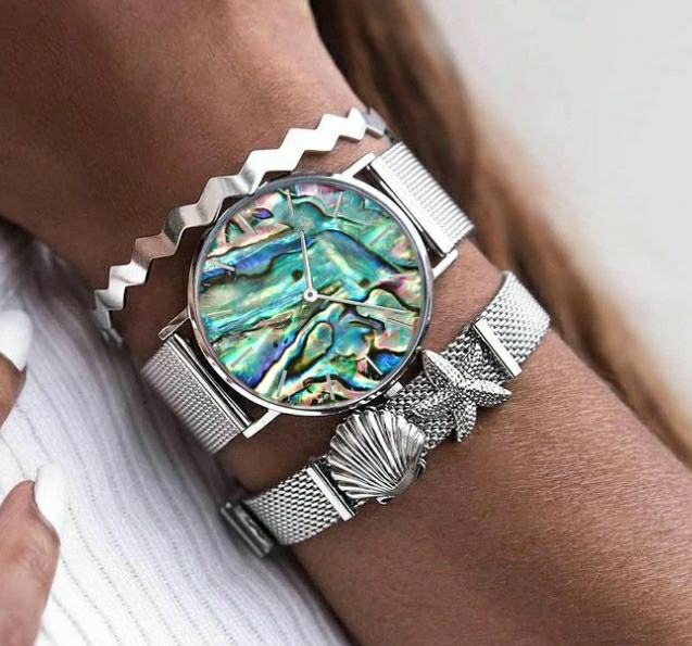 Lauren Sea Shell Silver