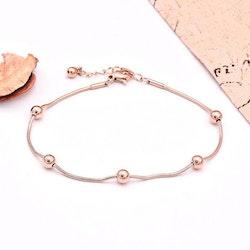 Sphere chain bracelet