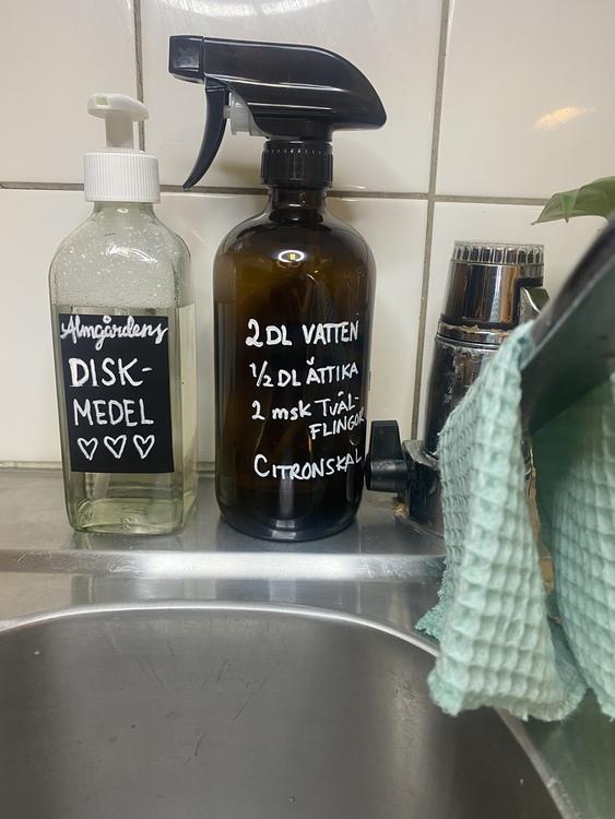 Tvätt- Städ- och Disktvål