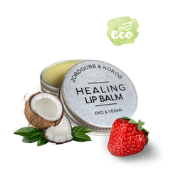 Healing Lip Balm | Jordgubb & Kokos