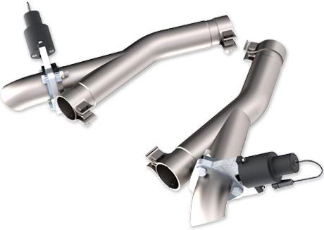 QTP Durango 2011-2018 Cutout pipes kit