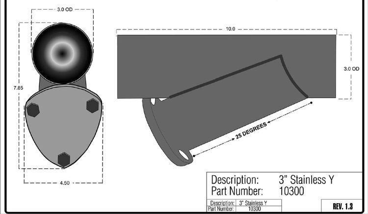 "QTP Universal 3"" Exhaust Cutouts"
