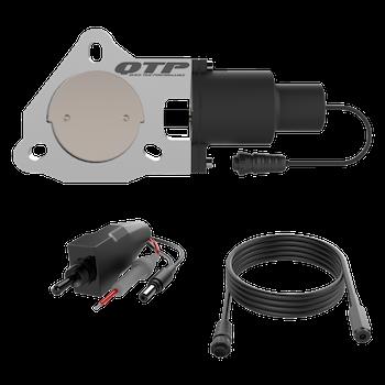 3.00 Inch QTP Electric Exhaust Cutout Valve