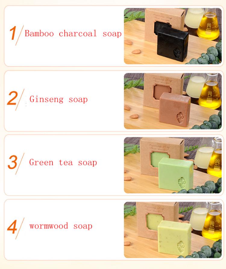 Handgjorda tvålar med eteriska oljor(100 g)